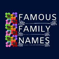 Famous Family Names